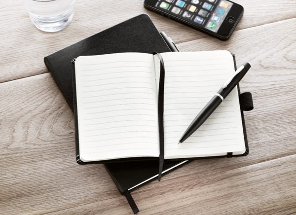 Promotional A5 notebooks