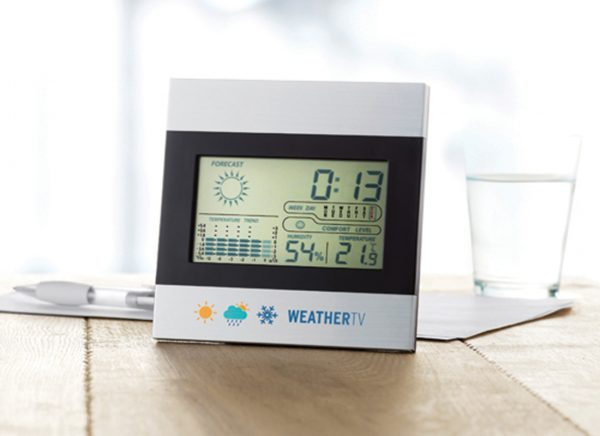 Printed weather stations