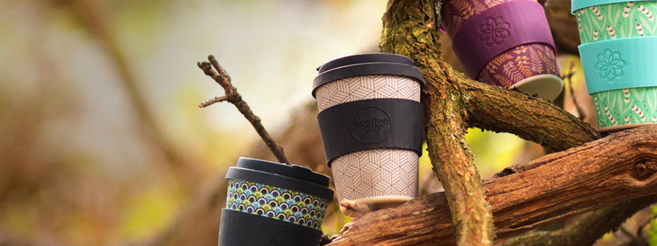 ecoffee  cups® - Including Henry Moore designs. Colour prints on the ever-popular ecoffee Cup. Comes in 8oz and 12oz sizes with your branding.