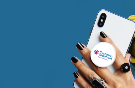 Get a handle on Pop Sockets! - With five billion of us worldwide spending a quarter of our day on our mobiles - a branded Pop Socket is practical and unique.